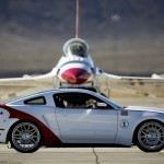 Thunderbird Fighter Jet & 2014 Ford Mustang GT