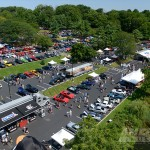 The 2013 AmericanMuscle Car Show Overhead View