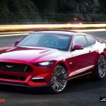 S550 Mustang Render