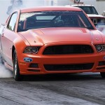 Competition Orange Cobra Jet Burnout