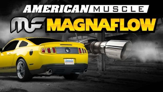 AmericanMuscle & magnaflow Mustang Exhaust Coupon