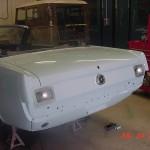 Rear 1964.5 Mustang Restoration