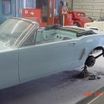 Restoring First Ever Sold 1964.5 Ford Mustang