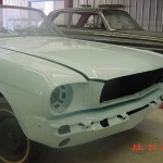 Painting 1964.5 Mustang