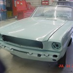 First Mustang Ever Sold Being Restored