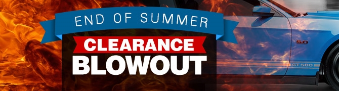AmericanMuscle's Summer Clearance Sale on Mustang Parts