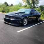 Blacked Out 11 Second Mustang GT