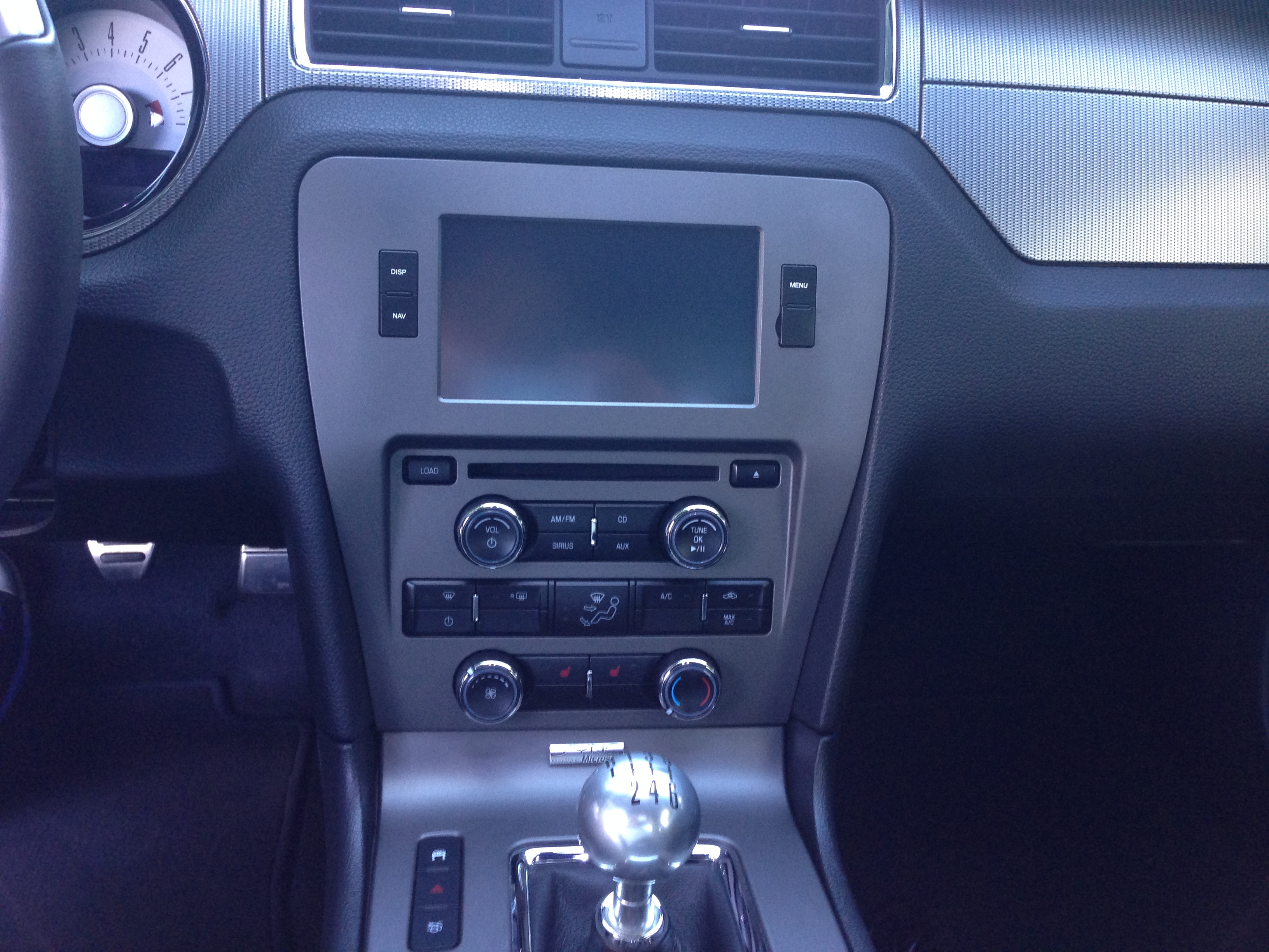 installed raxiom gps 2011 mustang gt
