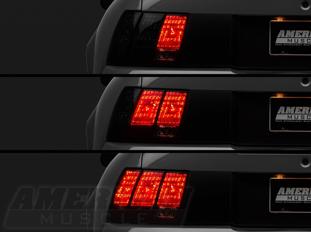 1996-2004 LED Sequential Tail Lights