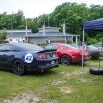 2011 Supercharged V6 Mustang at Raod America