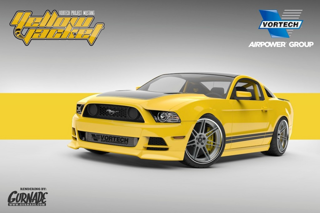 Vortech Yellow Jacket Mustang For 2013 SEMA Show