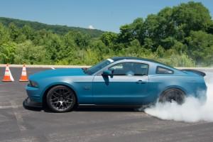 2011 Mustang GT Burnout