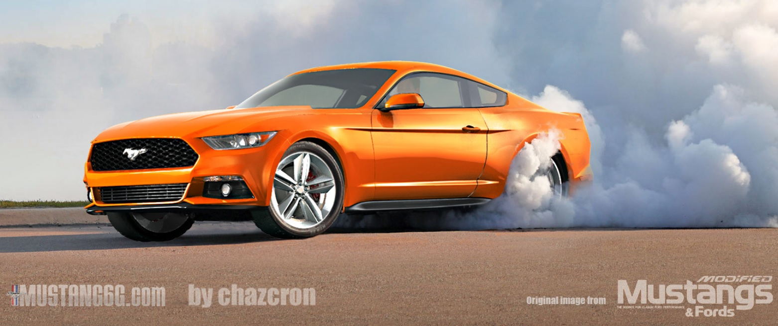 Official: Ford Will Reveal The 2015 Mustang on December 5th ...mustang burnout