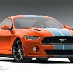 2015 Mustang Render Final