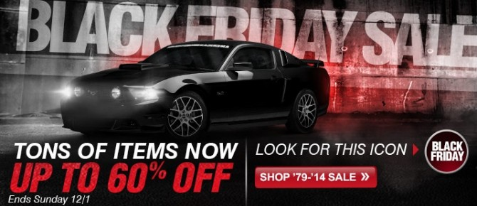 AmericanMuscle 2013 Black Friday Sale