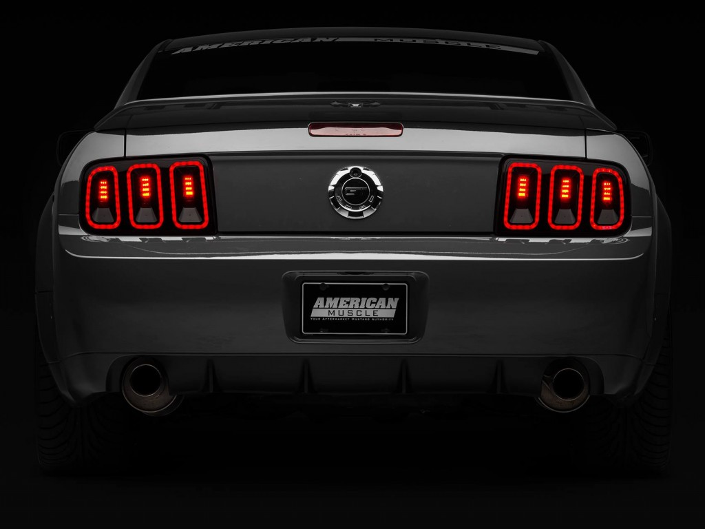 AmericanMuscle Gen5 Style Tail Lights