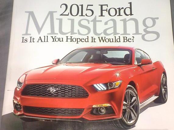 2015 Mustang AutoWeek Cover 2