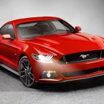 2015 Mustang GT Ford Front Side View