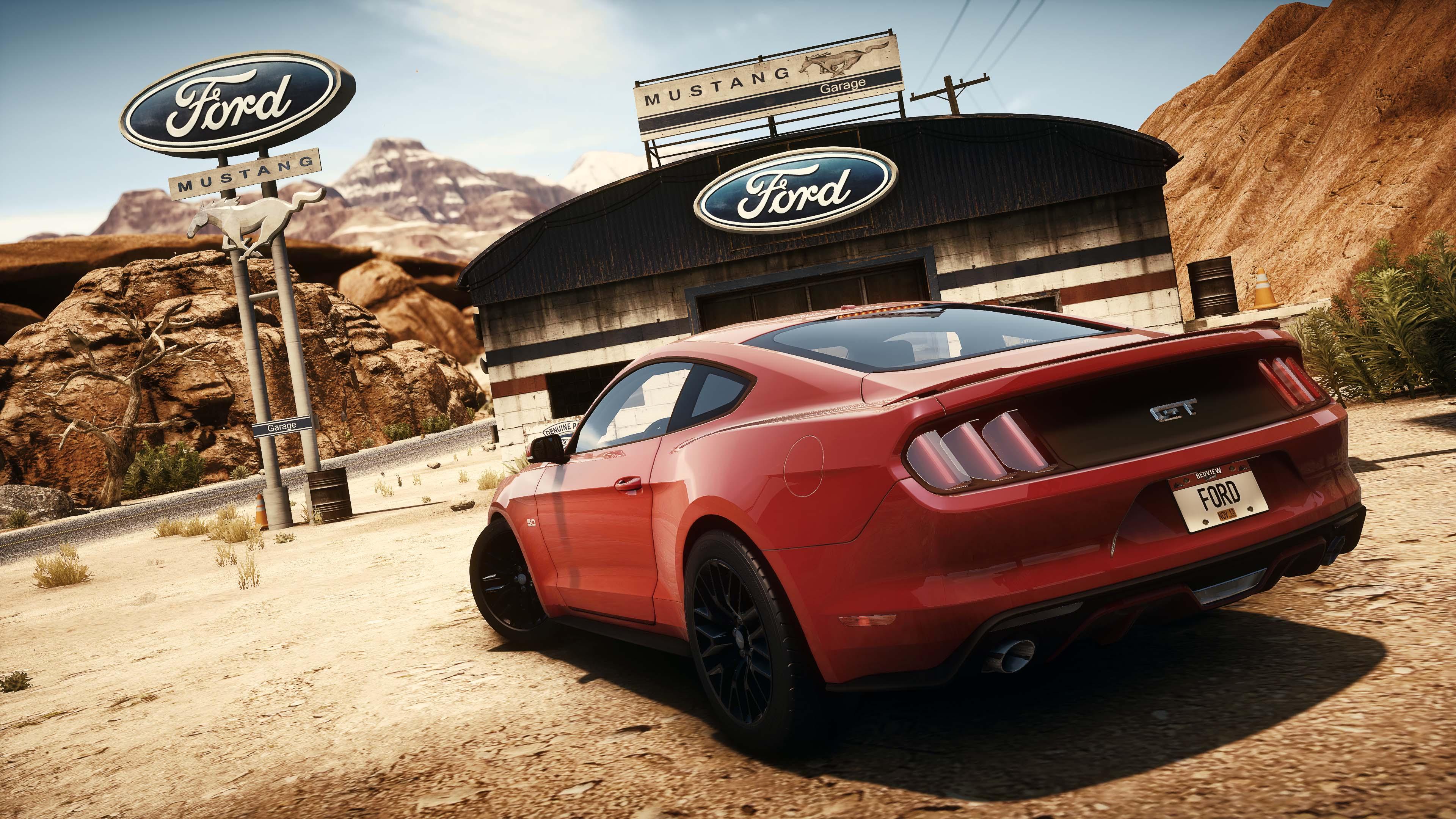 Mustang Video Game