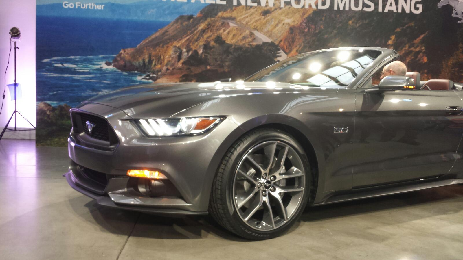 2015 mustang gt convertible 1 - 2015 Ford Mustang Gt Convertible Black