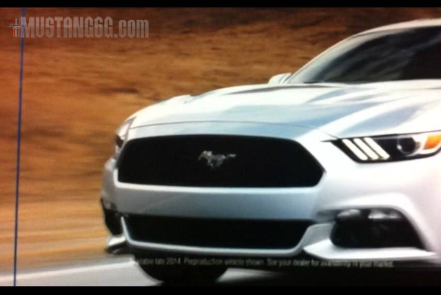 2015 Mustang GT Front