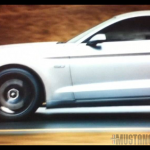 2015 Mustang GT Moving Side Angle