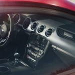 2015 Mustang GT Outside View of Interior