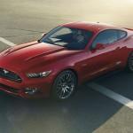 2015 Mustang GT Overhead View