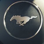 2015 Mustang Steering Wheel Logo