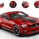 Front 2015 Ford Mustang Mach 1 Rendering by TopSpeed - AmericanMuscle