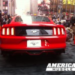 Rear of 2015 Mustang at Good Morning America 2