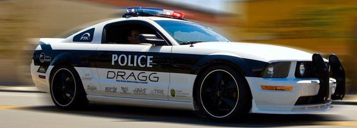 2006 DRAGG Police Force Mustang GT
