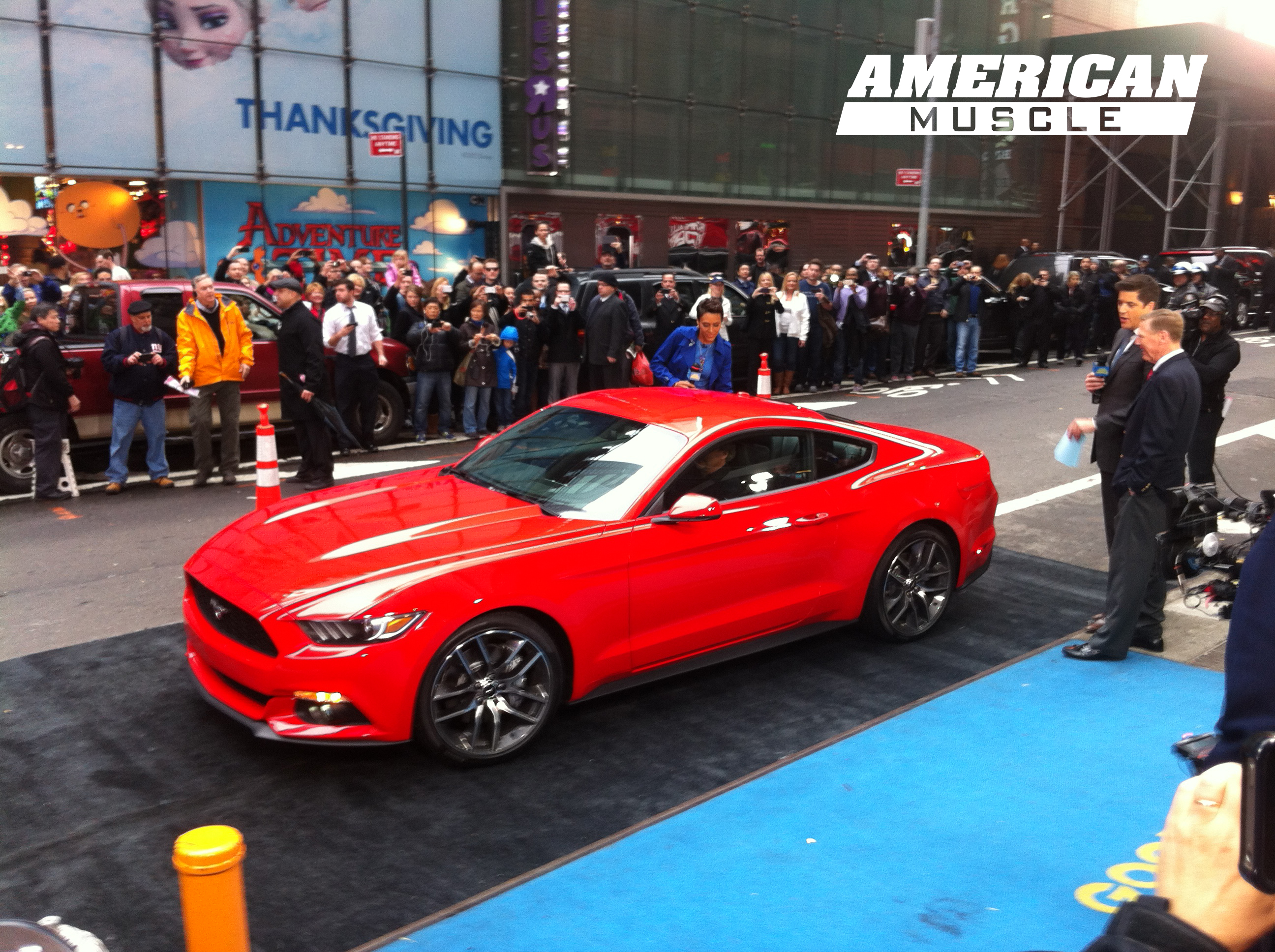 2017 Mustang Streets Of Nyc Defined By The First Turbo 4 Cylinder Motor