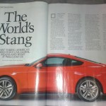 AutoWeek Spread on 2015 Ford Mustang
