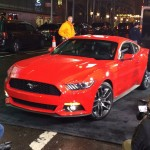 2015 Mustang Rolling Into Good Morning America