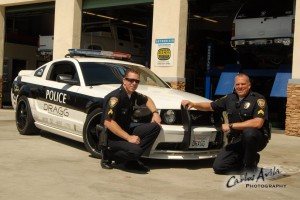 DRAGG Police Car & Officers