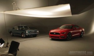 Video Image of the 2015 Mustang