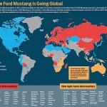 2015 Mustang Wolrd Sales Map