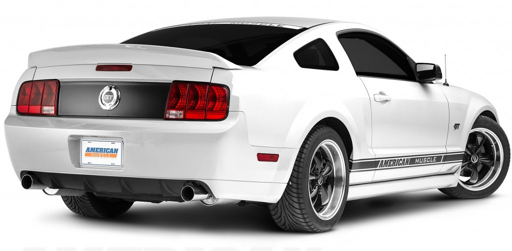 20015-2009 Mustang With Duck Tail Spoiler