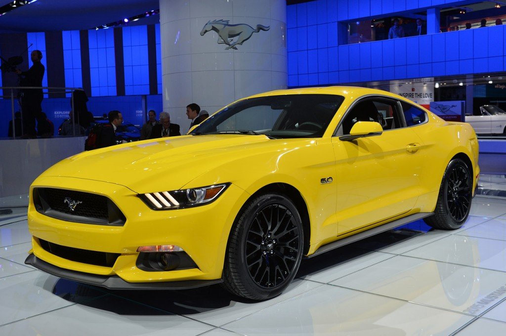 2015 Mustang GT - Triple Yellow Side Angle