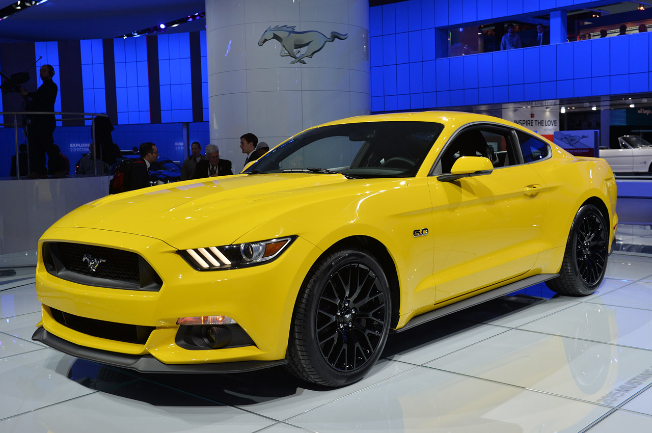 vote hot or not 2015 mustang gt in triple yellow. Black Bedroom Furniture Sets. Home Design Ideas
