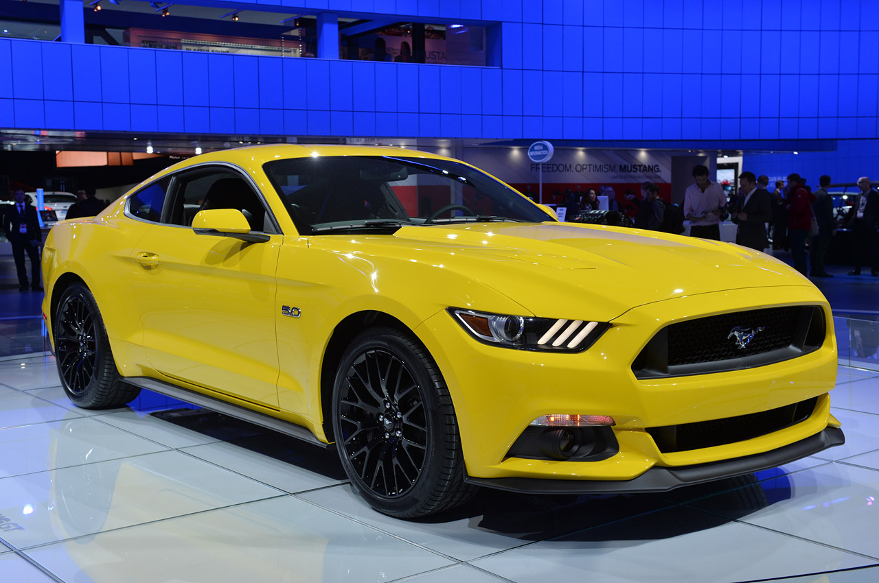 Interior 2015 mustang gt triple yellow