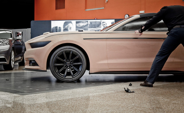 2015 Mustang Clay Design