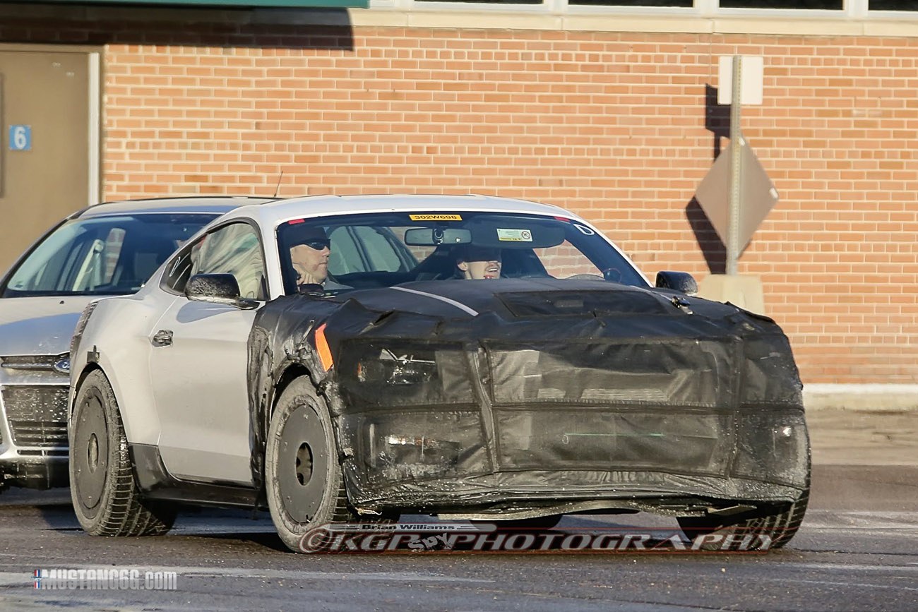 Spied 2015 Mustang GT350GT500 Ford to Reveal  NY Auto Show in