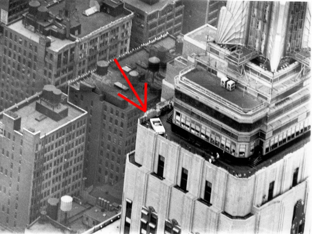 1966 Mustang Empire State Building