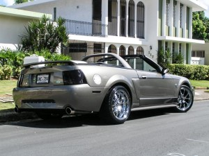 1999-2004 Mustang With FR500 Wheels