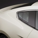 2015 Mustang Built in Glass Window Louvers