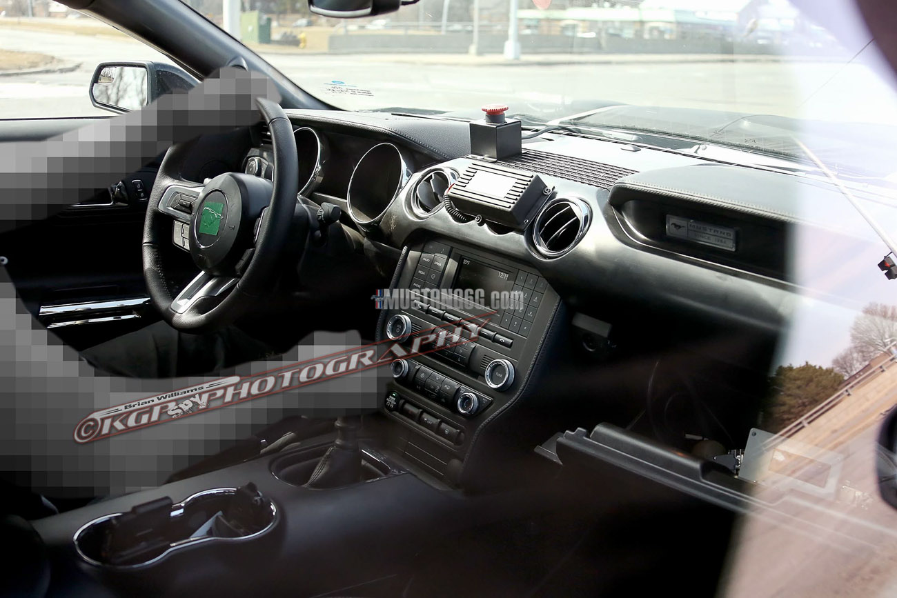 First Look 2015 Mustang Gt350 Svt Interior Blog