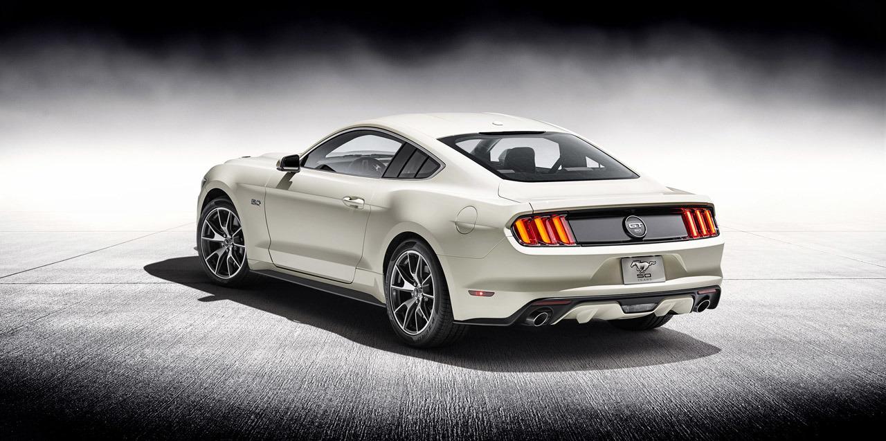 Rear Of 2017 5 Mustang