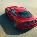 2015 Mustang Overhead Picture